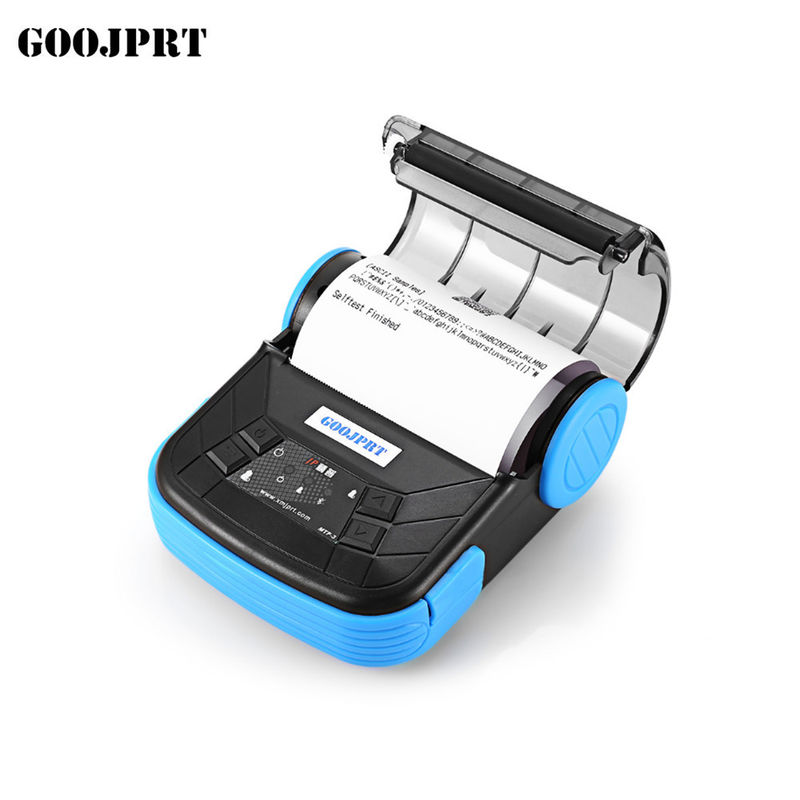 197g Weight Portable Bluetooth Printer , Mobile Receipt Printer USB Interface Type