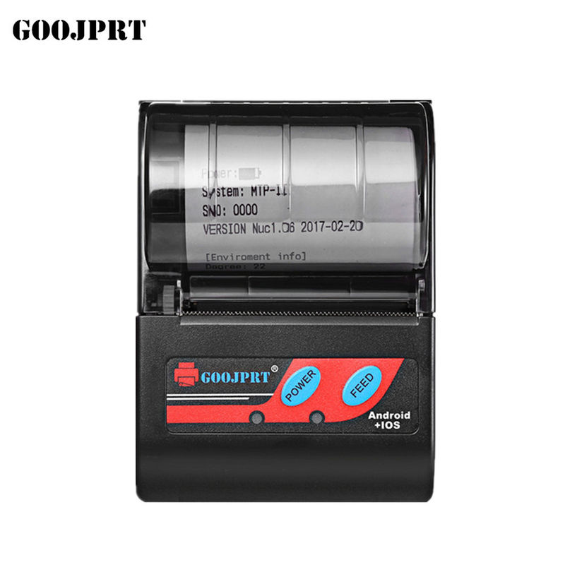 Bluetooth Interface Portable Wireless Printer Thermal Line Printing Method