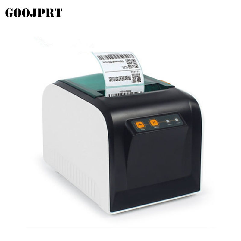 Thermal Adhesive Label Sticker Printer , Handheld Label Printer Multi Interfaces